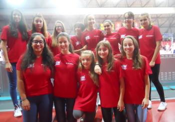 La Volley Tim Cup a Rimini insieme alle campionesse di Serie A .(2015)